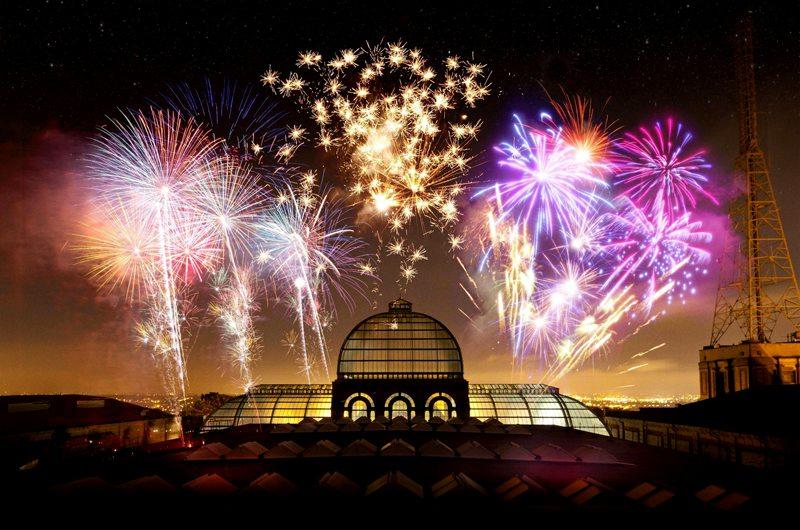 Alexandra Palace Fireworks London
