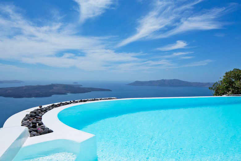 Suite on the Caldera, Greece