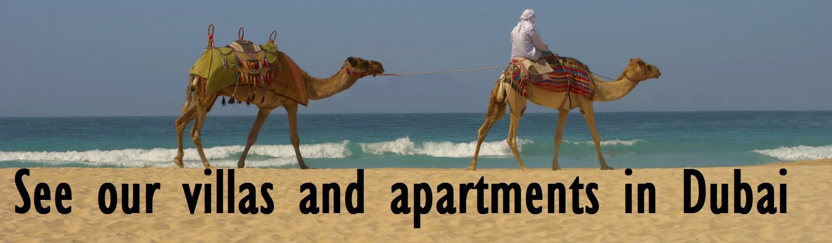 villas and apartments in Dubai