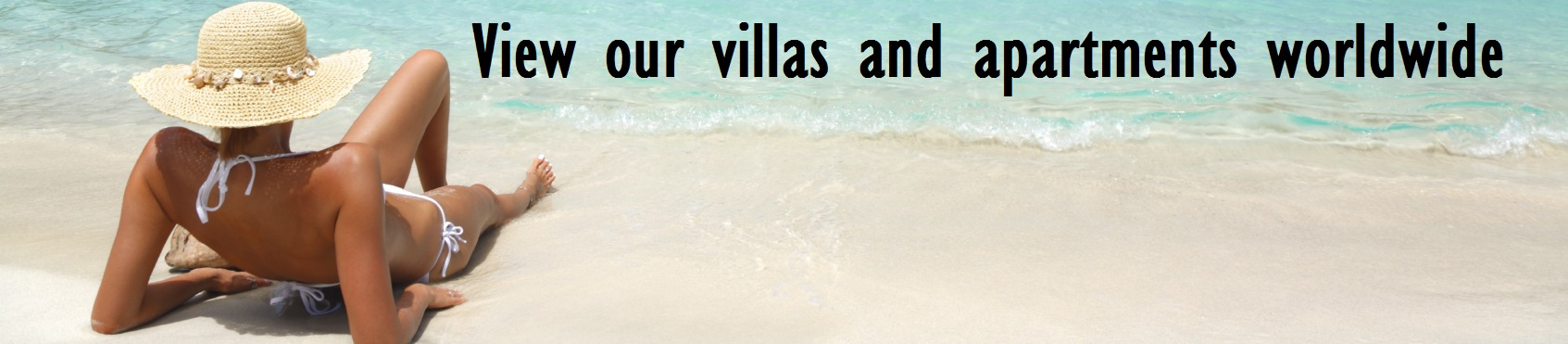 Villas and apartments worldwide