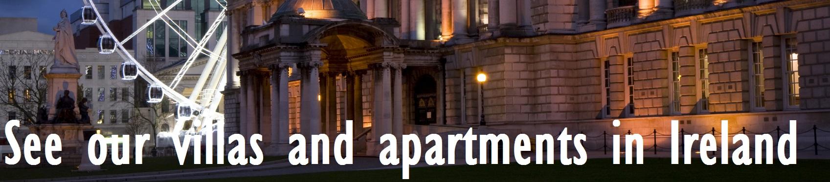 Villas and apartments in Ireland