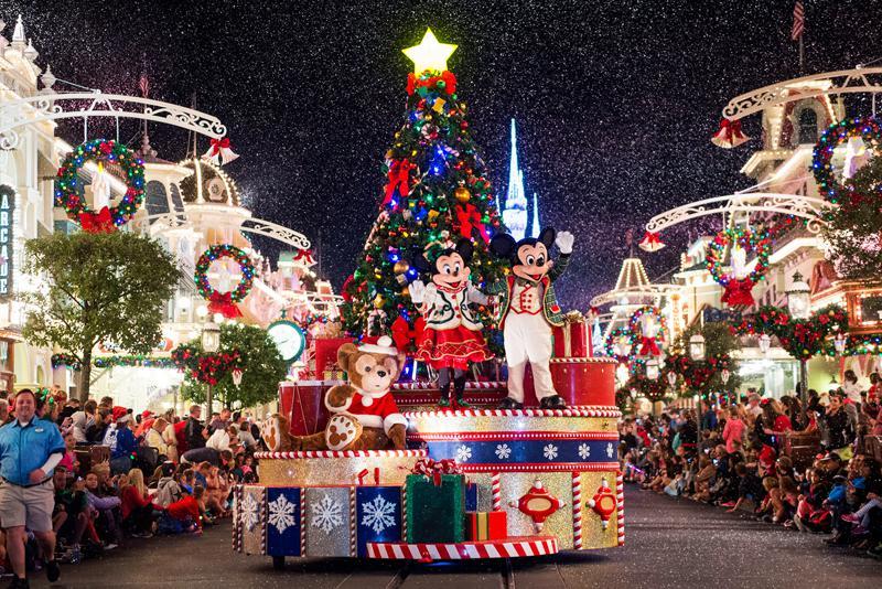 Florida Disney Christmas