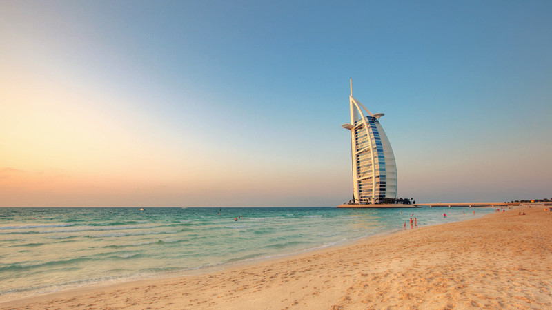 Dubai Beach Sun