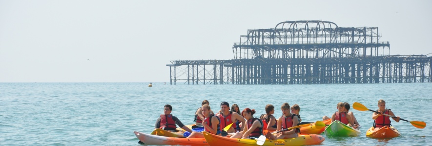 Kayaking - Visit Brighton