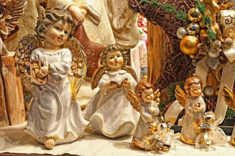 Tradtional italian christmas deco