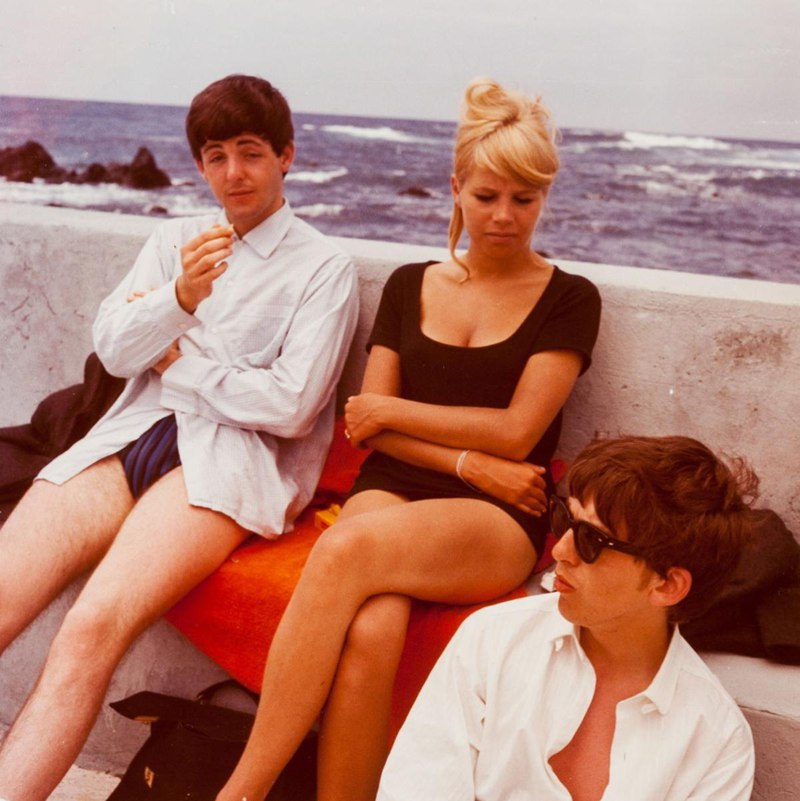 The Beatles on holiday in Tenerife