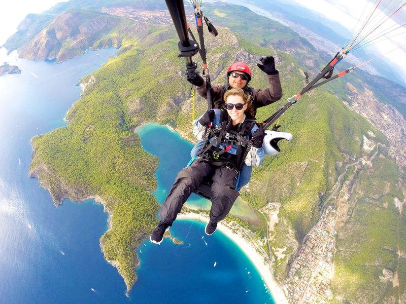 Paragliding in Turkey Phoebe Greenacre