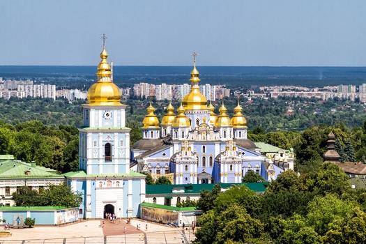 St Sophia's Cathedral in Kiev, Ukraine