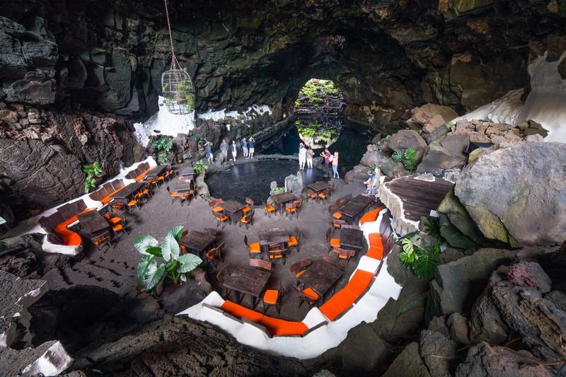 Jameos del Agua, part of a 6Km long lava tube