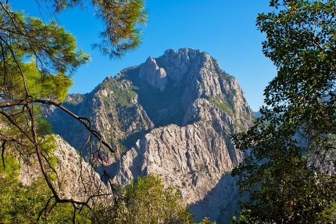 Taurus mountain range in Turkey