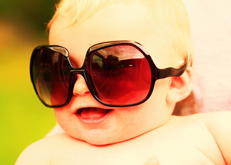 sunglasses baby glamorous