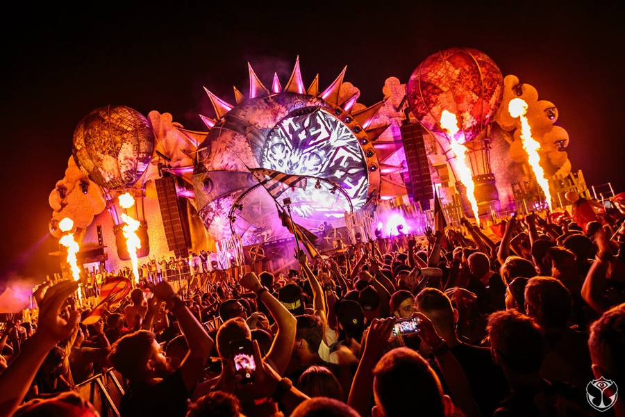 The fantasy world blossoming at Tomorrowland