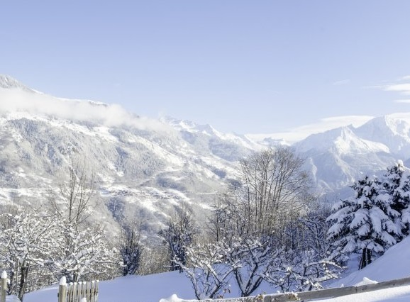 Incredible views from The Orchards chalet near Meribel