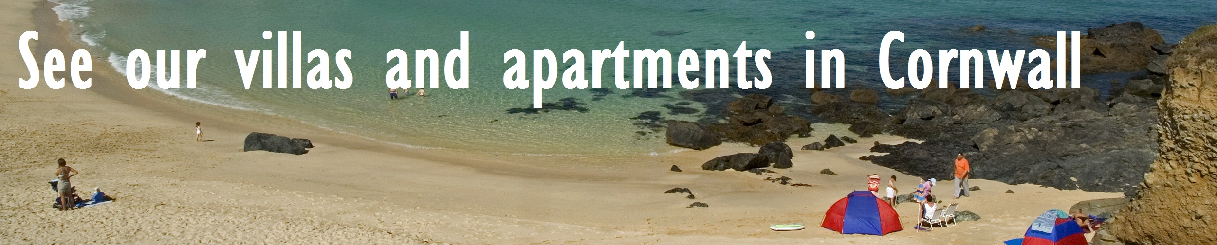 villas and apartments in Cornwall