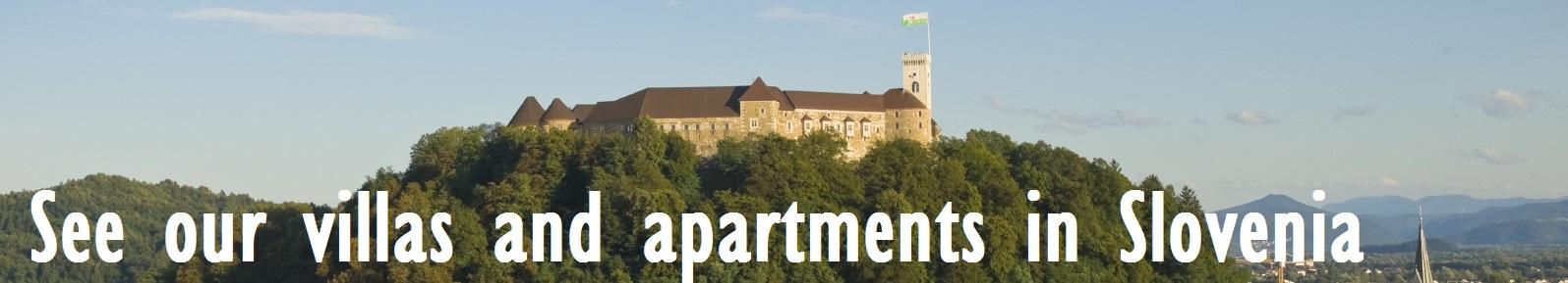 villas and apartments in Slovenia