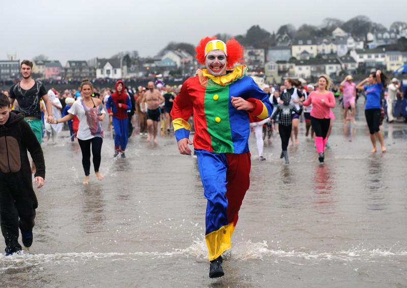UK New Year's Day Swim