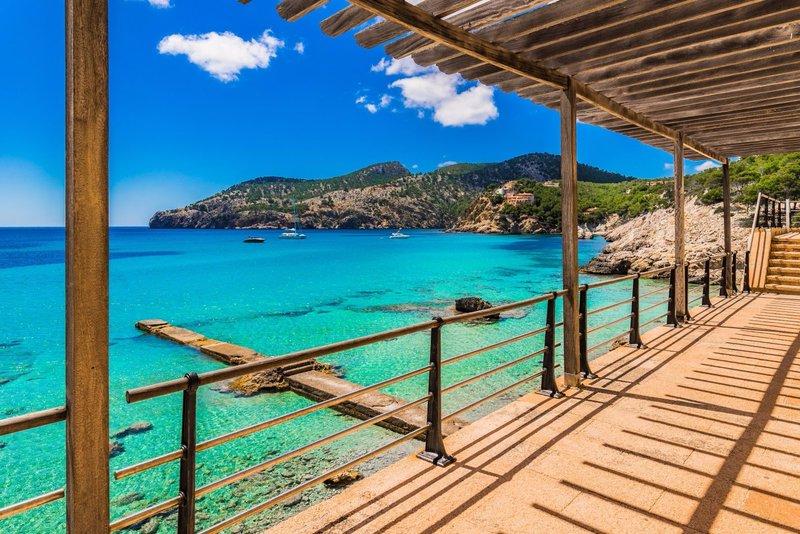 Sea view in Camp de Mar