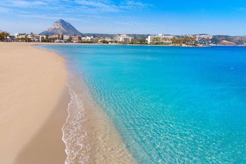 Playa de Arenal in Javea - Alicante, Spain's Costa Blanca