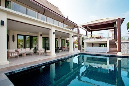 Villa In Thailand, Jomtien: Pool Area And Patiou0027s