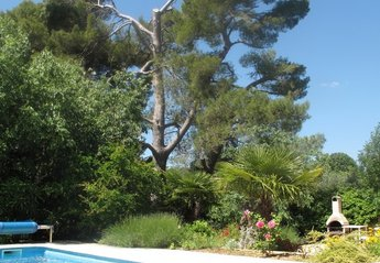 House in Cruzy, the South of France