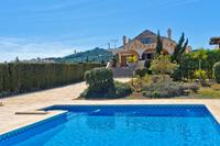 Villa in La Manga Club & Resort, Spain: View from pool towards villa.