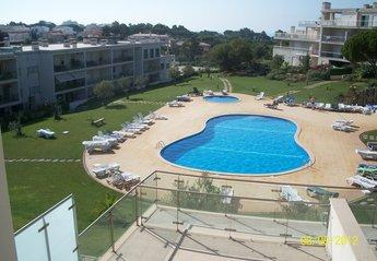 Villa in Vale Navio, Algarve: View from Master Bedroom/Living Room