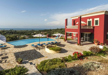 Villa in Roda, Corfu