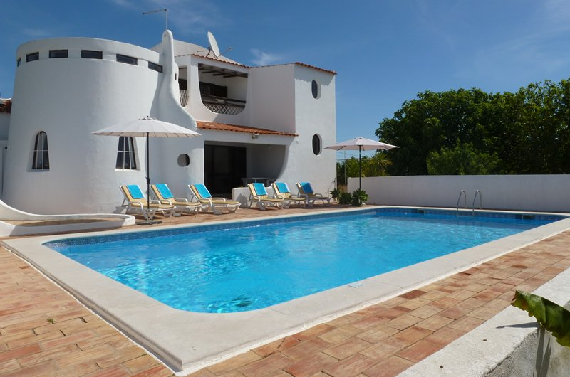Villa In Portugal, Vale Centianes. Very Quiet Villa With Private Pool ...