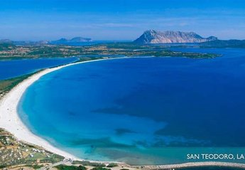 Villa in Padru, Sardinia: La Cinta Beach, San Teodoro