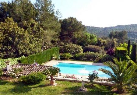 Villa in Bois Fleuri-Chevre d'Or-Saint Philippe, the South of France