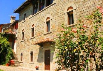 Villa in Caprese Michelangelo, Italy: Villa Gentili front
