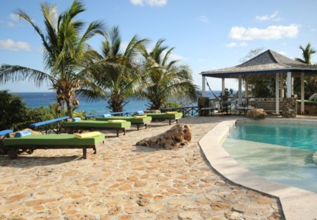 Villa in Falmouth, Antigua and Barbuda: Views to the Caribbean Sea