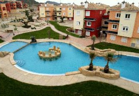 Apartment in Mosa Trajectum Golf Resort, Spain: POOL AREA