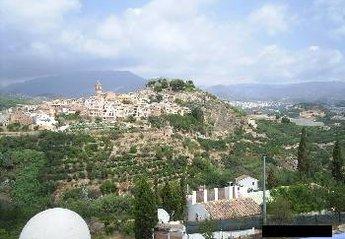 House in Barranc Fondo, Spain: View of Polop de la Marina from La Nucia
