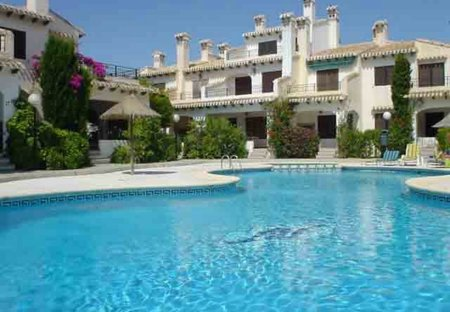 Duplex Apartment in Cabo Roig, Spain: 1 of 2 lovely swimming pools