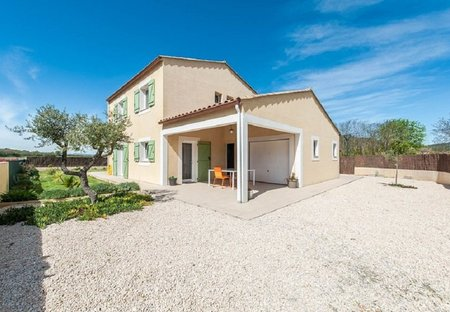 House in Pomas, the South of France