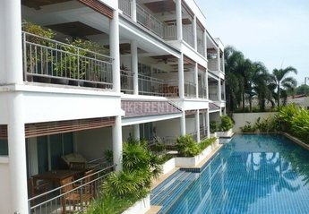 Apartment in Cape Panwa, Phuket: front view