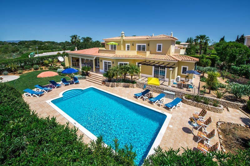 Good Villa In Portugal, Boa Nova: Panoramic View Of Villa And Garden