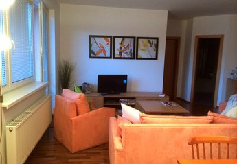 Apartment in High Tatras mountains, Slovakia: lounge area