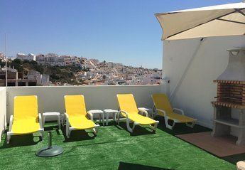 Apartment in Portugal, Albufeira Old Town: communal roof terrace
