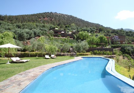 Lodge in High Atlas Mountains, Morocco