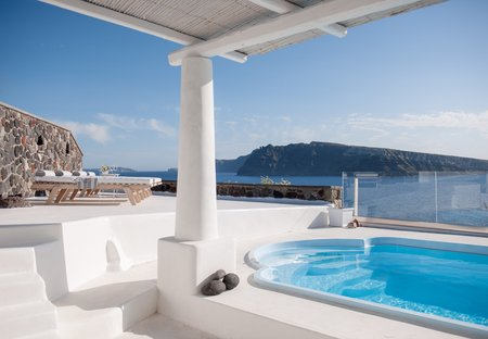 Villa in Oia, Santorini: Ode Villa in Oia of Santorini