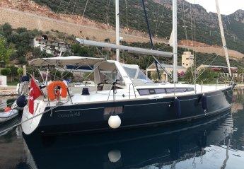 Boat in Kas, Turkey
