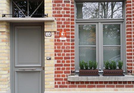 House in Ieper, Belgium