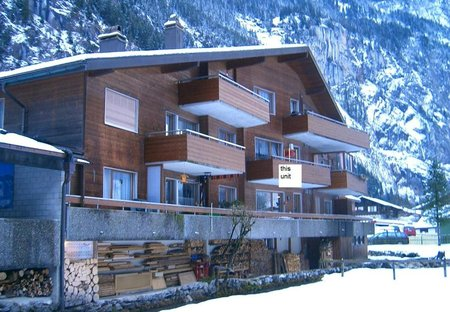 Apartment in Lauterbrunnen, Switzerland