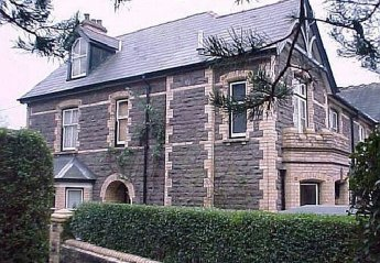Town House in Castle (Abergavenny), Wales