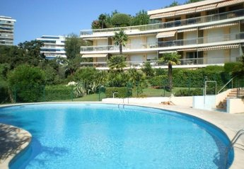 Apartment in Broussailles, the South of France: The shared swimming pool