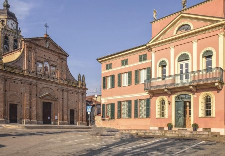 Villa in Mirabello Monferrato, Italy