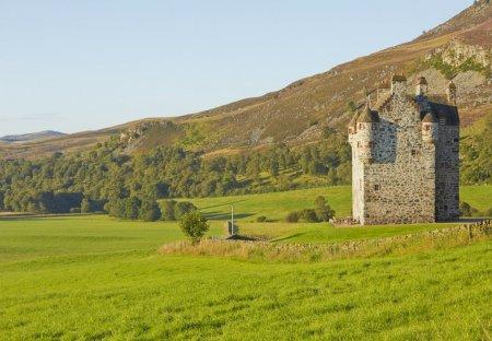 Chateau in Kirriemuir West, Scotland: Forter Castle
