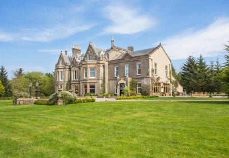 Chateau in North and West Kintyre, Scotland